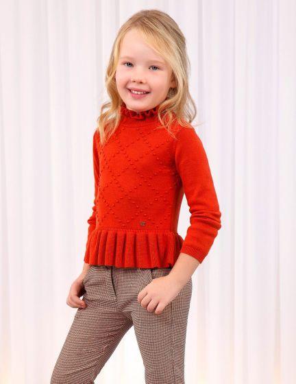 Sweater Knit 003ORANGE5817