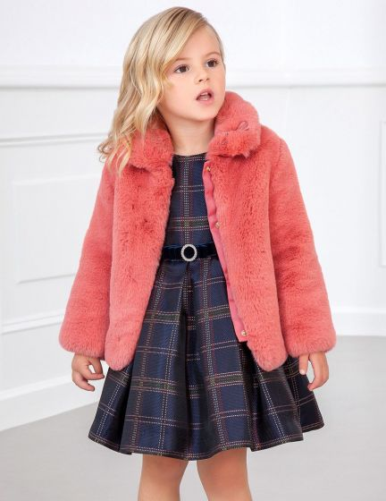 Coat Faux Fur 036BLUSH5825