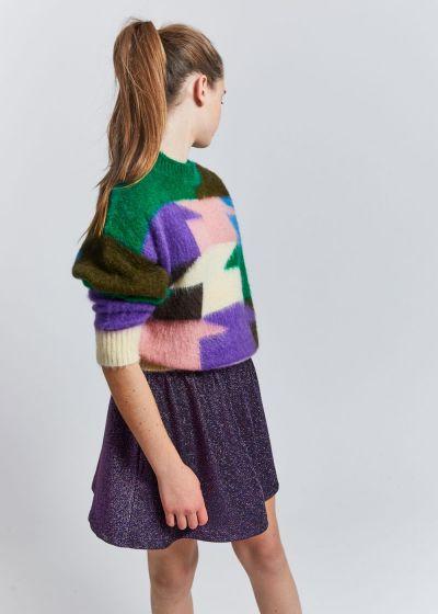 Sweater Brushed Mohair Milk Icebox