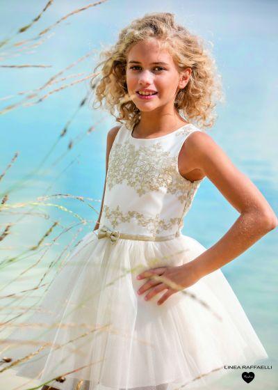 Golden Bow Dress