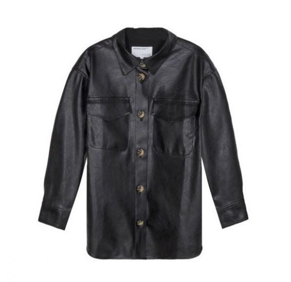 G Marie Shirt Coat BLACK05016499