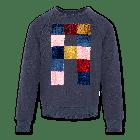 Sweater C-Neck Raglan Sweater Oxforc 220-1201