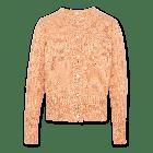 Vest Mohair Cardigan Pink 220-1315