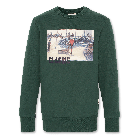 Sweater C-Neck Sweater classic green 220-2200-05