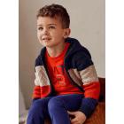 Knit Colorblock Sweatshirt