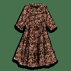 Silky Feel Longer Dress