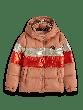 Colour-Block Puffer Jacket 0217-157923