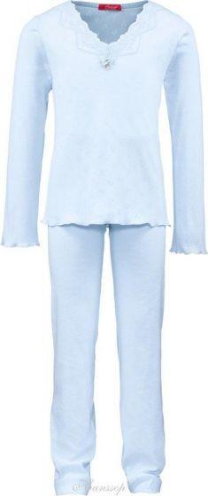 Girls Blue Lace Pyjama