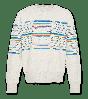 C-Neck Oversized Stripes ao76