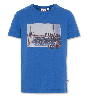 T-shirt C-neck SS T-shirt phone blue 220-2100-01