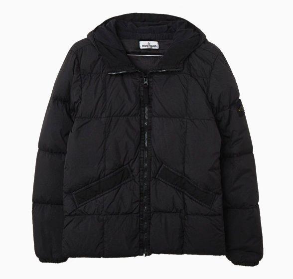 Real Down Jacket BLACKMO731640333-V0029
