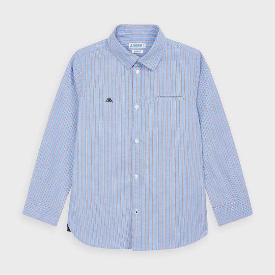 Shirt L/S Stripes 007LIGHTBLUE4142