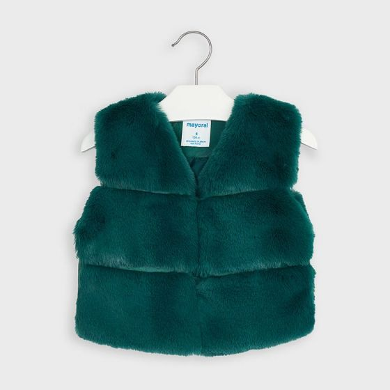 Vest Fur 010DUCKGREEN4351