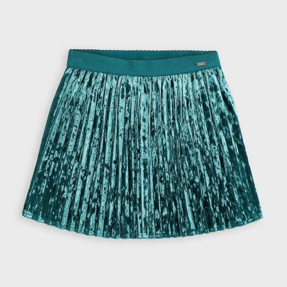 Skirt Pleated 064DUCKGREEN4955