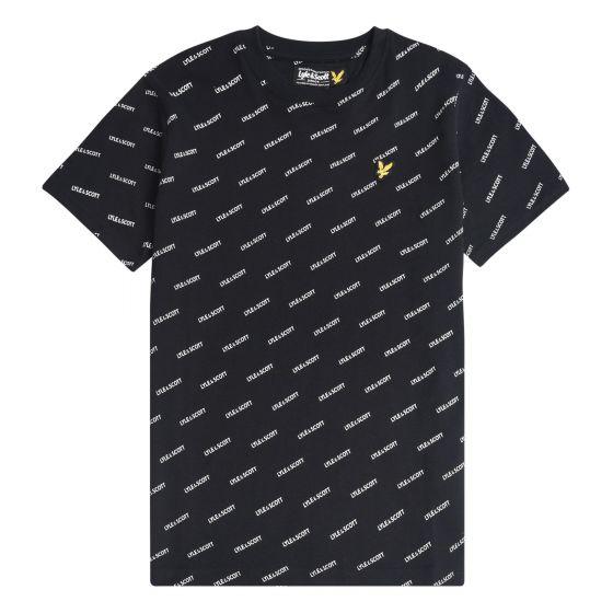 T-shirt Boys Shirt black2002-LSC0843.203