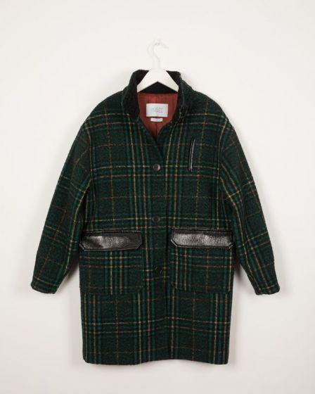 Coat Quilted Malachite Iberico