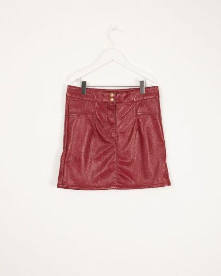 Skirt Eco Leather Skirt GojiIlluso