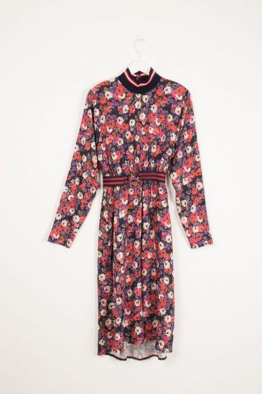 Dress Long Flower Dress Goji India