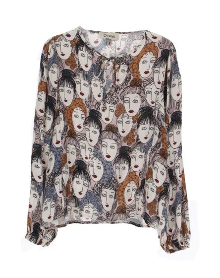 Sweater Dixie BEIGE/ROSACL18314G26