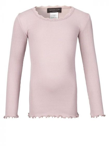 Slik T-Shirt Regular W/ Lace