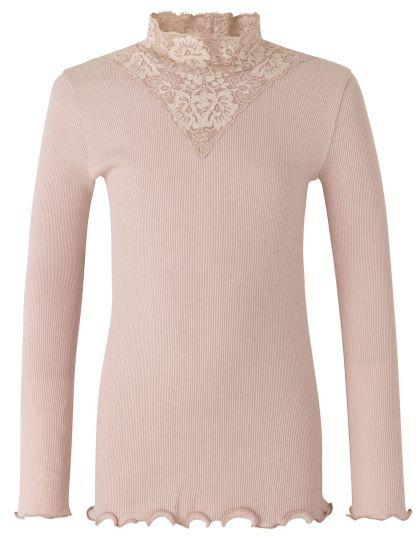 Organic T-Shirt Regular Ls W/Lace