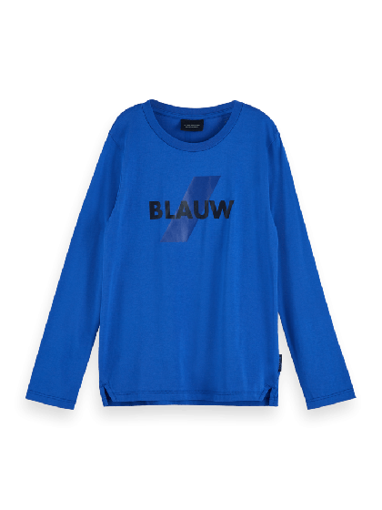 Ams Blauw Long Sleeve Tee 3625-157243.1