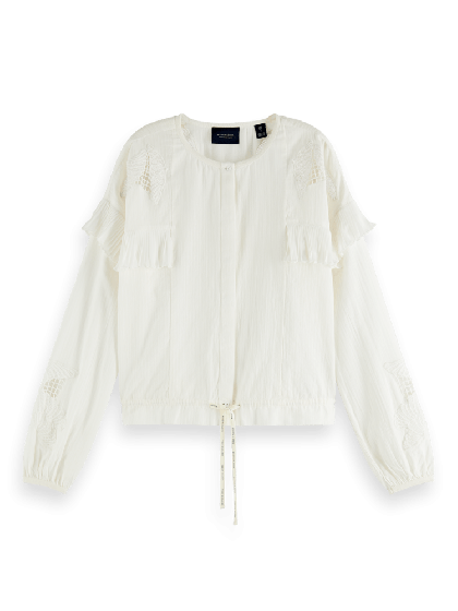 Loose Shirt With Lace 0001-157335