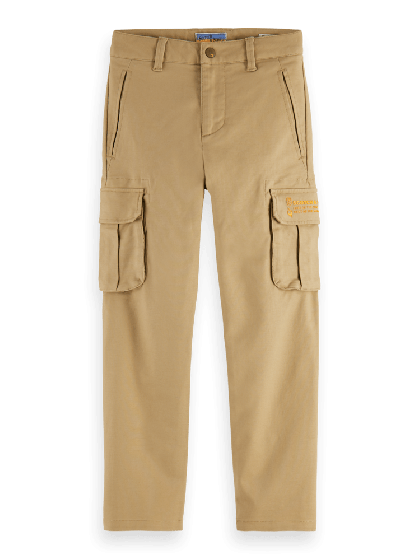 Pants Loose Tapered Fit Clean Cargo 0137-157825