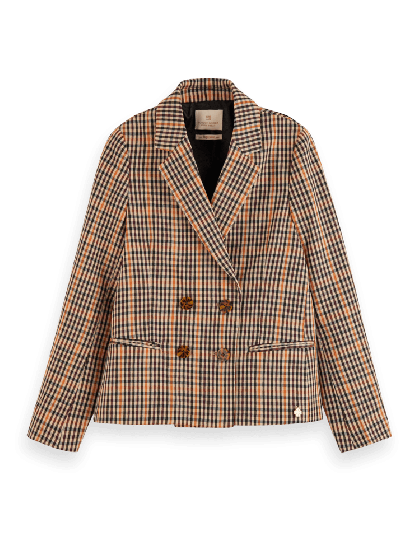 Double Breasted Blazer 0219-157942