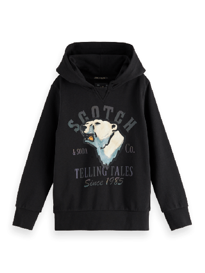 Hoodie With Oversized Artwork 0008-157698