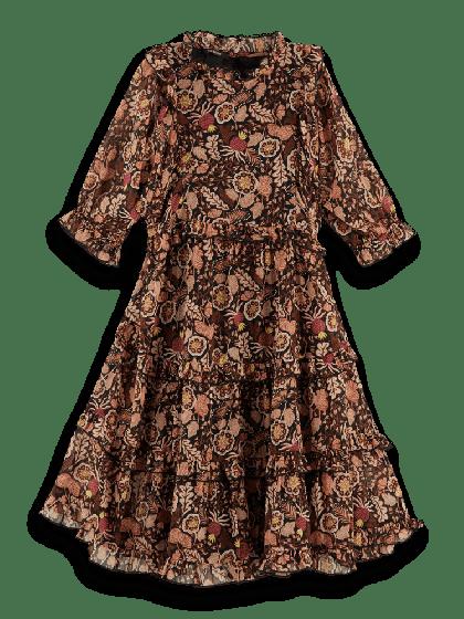Silky Feel Longer Dress 0217-158190