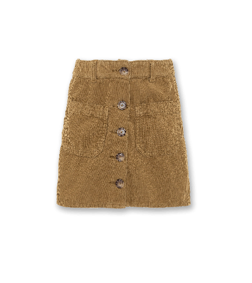 Skirt Patti Corduroy Skirt Army 220-1521