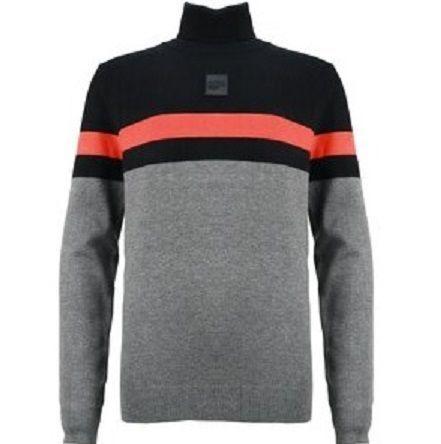 Sweater Turtle Collar BLACKMKSW01156